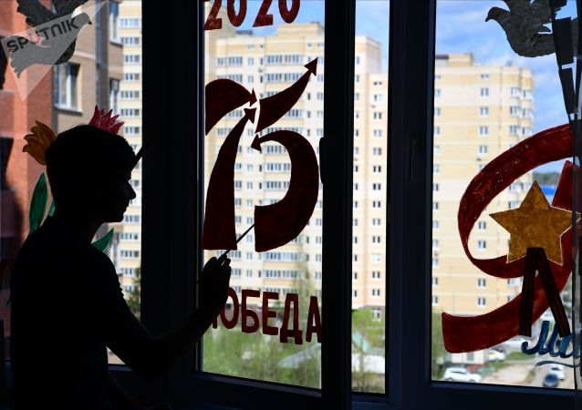 Празднование 75-летие Победы в Великой Отечественной войне. Архивное фото