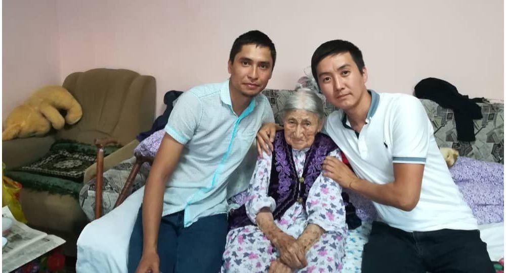 110 жаштагы Үрбү Боромбаева
