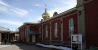 Православный храм в Токмоке, где были похищены старинные иконы