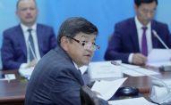 Председатель госкомиссии по проверке деятельности Кумтора, депутат ЖК Акылбек Жапаров. Архивное фото