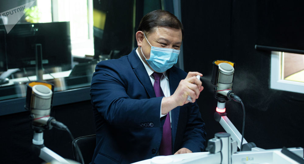 Экс-спикер Жогорку Кенеша, депутат Дастан Джумабеков. Архивное фото