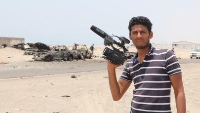 Ruptly видеоагенттигинин стрингери Набил Хассан аль-Каитинин архивдик сүрөтү