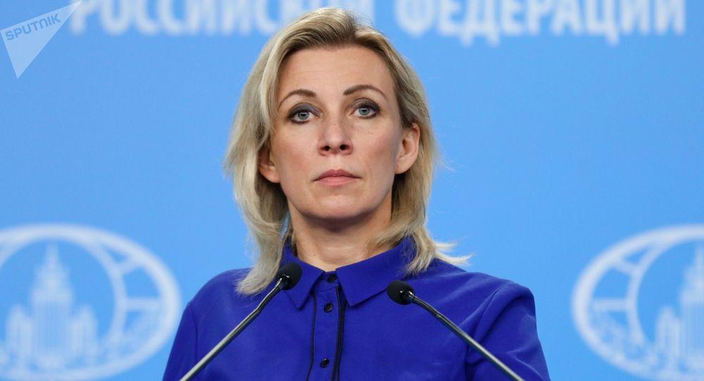 Россия ТИМинин расмий өкүлү Мария Захарова. Архивдик сүрөт