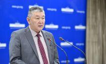 Саламаттык сактоо министринин орун басары Нурболот Үсөнбаев