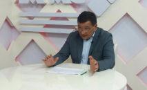 Өкмөттүн Талас облусундагы өкүлү Марат Мураталиев. Архивдик сүрөт