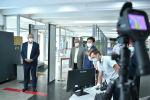 Исполняющий обязанности премьер-министра Кыргызстана, первый вице-премьер Кубатбек Боронов ознакомился с подготовкой к возобновлению внутренних авирейсов