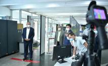 Биринчи вице-премьер-министр Кубатбек Боронов Манас аэропортунун ички аба каттамдарын жандандыруунун алдындагы даярдык менен таанышты.
