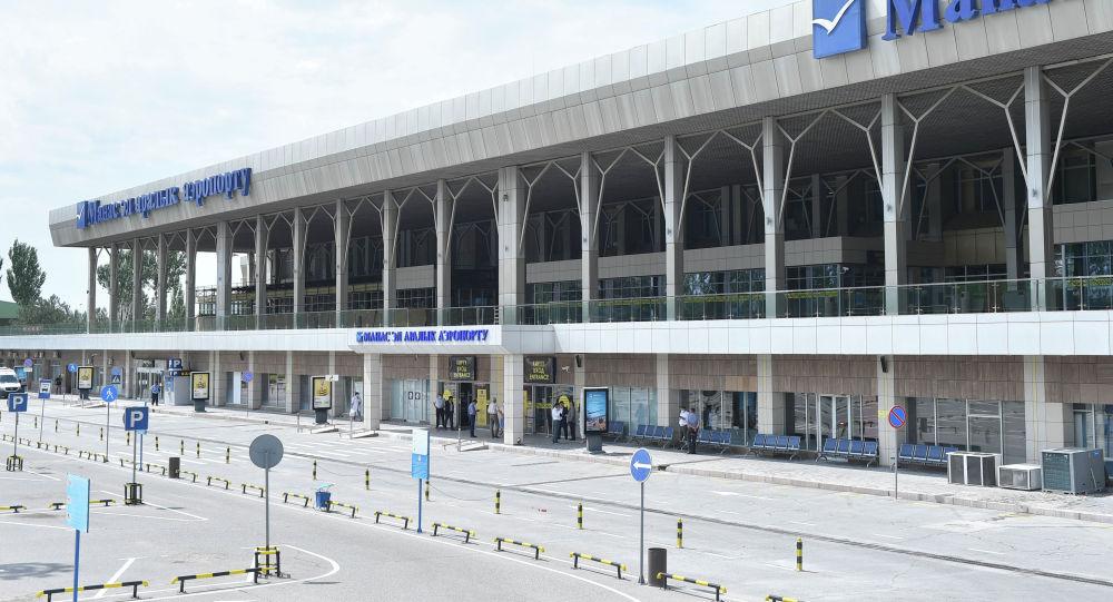 Эл аралык Манас аэропорту. Архивдик сүрөт