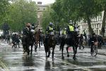 Лондондо атчан полиция нааразычылык акция учурунда