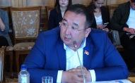 Бывший депутат Жогорку Кенеша Руслан Чойбеков. Архивное фото