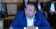 Жогорку Кеңештин экс-депутаты Руслан Чойбеков. Архив