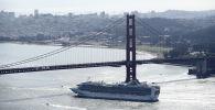 Мост Золотые ворота в Сан-Франциско. Архивное фото