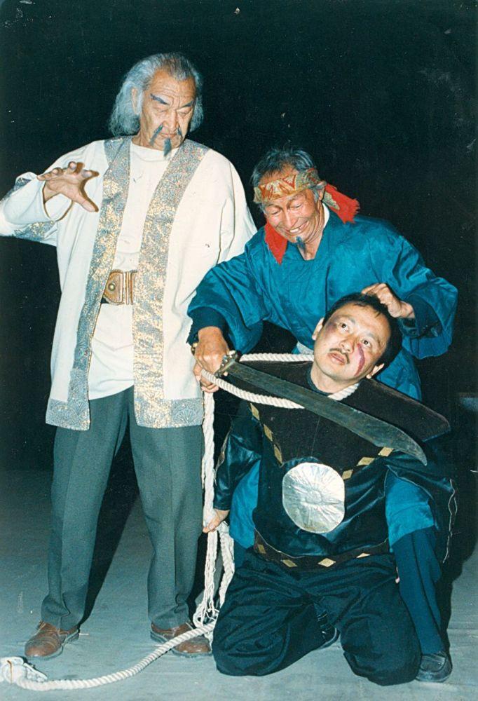 Жантелиев свыше 20 лет был актером Государственного театра молодежи и юного зрителя имени Б. Кыдыкеевой