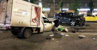 Место автомобильной аварии с участием актера Михаила Ефремова на Смоленской площади в Москве. Архивное фото