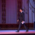 Мероприятие открыли министр культуры, информации и туризма Азамат Жаманкулов и посол РФ в КР Николай Удовиченко