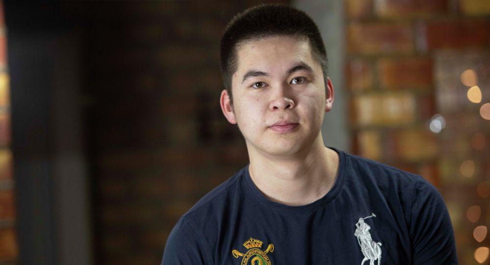 Молодой бизнесмен, основатель одной из экстремальных площадок в КР Эмиль Карипов