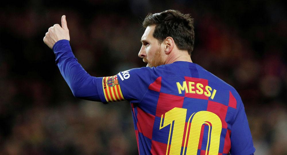 Испаниянын Барселона клубунун футболчусу Лионель Месси