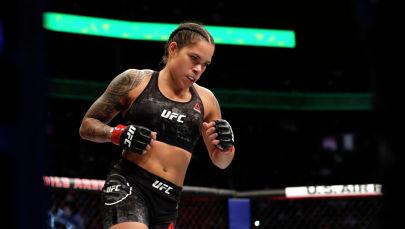 UFCинин эки категория боюнча чемпиону Аманда Нуньес. Архив