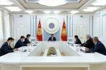 Президент Кыргызской Республики Сооронбай Жээнбеков провел рабочее совещание по вопросам развития железнодорожной отрасли страны