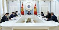 Президент Сооронбай Жээнбеков Кытай-Кыргызстан-Өзбекстан темир жолунун курулуш долбоору талкуулады