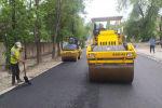 Бишкекасфальтсервис  муниципалдык ишканасынын кызматкерлери көчөлөрдү капиталдык оңдоо өткөрүп жатышат