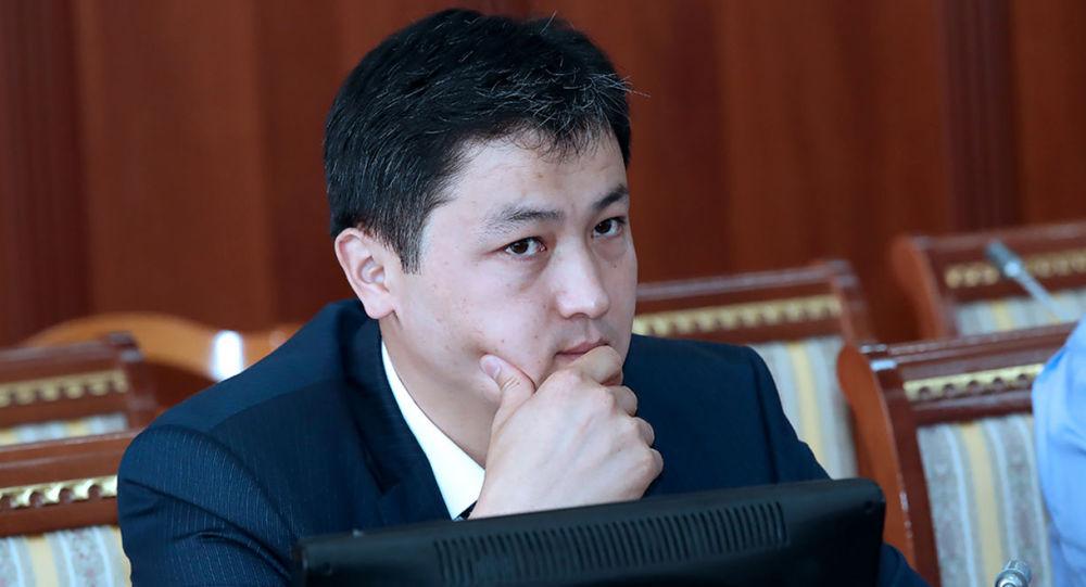 Кыргызстандын премьер-министри Улукбек Марипов. Архивдик сүрөт