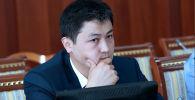 Эсеп палатасынын төрагасы Улукбек Марипов. Архивдик сүрөт
