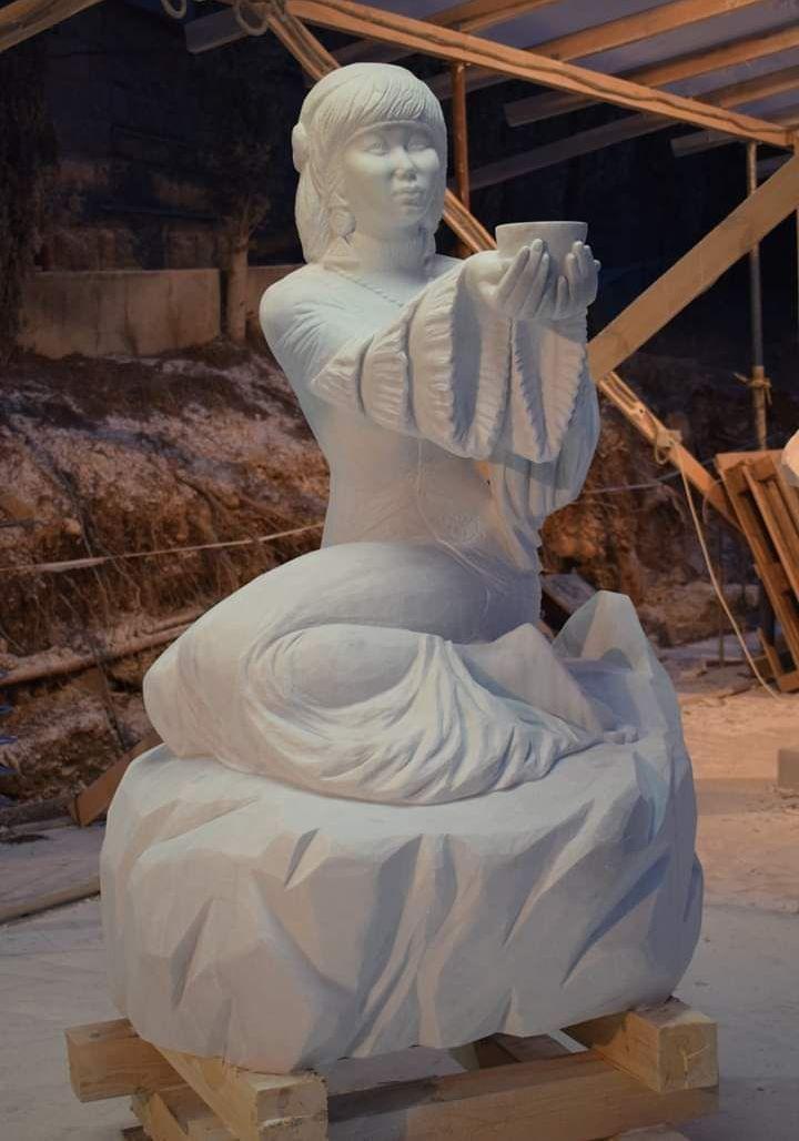 Работа скульптора Тамилы Маматовой