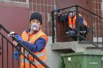 Россиядагы коомуналдык кызматта иштеген мигранттар. Архивдик сүрөт
