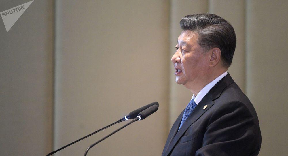 Кытай лидери Си Цзиньпин. Архив