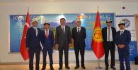 Кыргызстандын Түркиядагы элчиси Кубанычбек Өмүралиев Түркиянын Вандык кыргыздар менен жолугушту