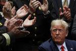 Президент США Дональд Трамп в Розовом саду Белого дома. Архивное фото