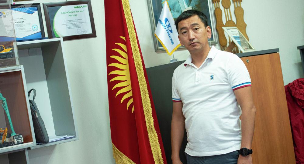 Кыргызстандык ишкер Мэлс Эркинбек