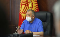Архивное фото экс премьер-министра Кубатбека Боронова