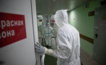 Медицинские работники в больнице. Архивное фото