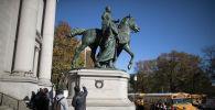 Статуя Теодора Рузвельта в Американского музея естественной истории. Архивное фото
