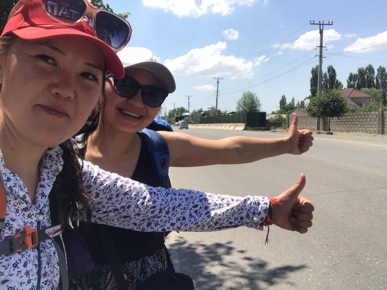 Путешествие кыргызстанок Жанаркуль Доктурбековой и Бермет Бутешевой по стране