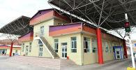 Кыргыз-кытай чек арасындагы Эркечтам өткөрүү пункту. Архивдик сүрөт