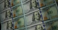Доллар акчалары. Архивдик сүрөт