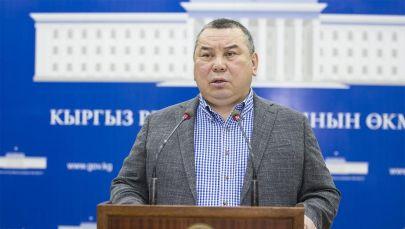 И.о. мэра Бишкека Балбак Тулобаев. Архивное фото