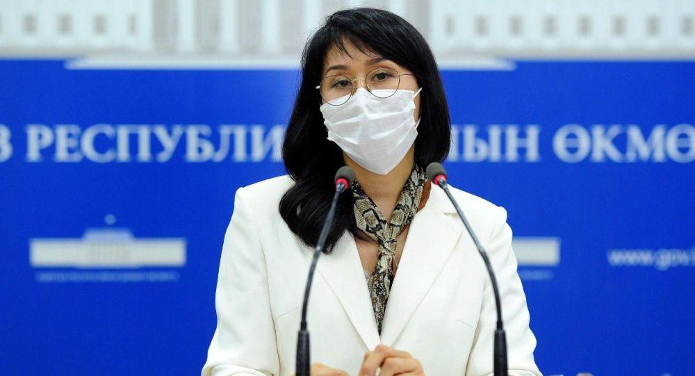 Вице-премьер-министр КР Аида Исмаилова. Архивное фото