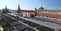 Москванын Кызыл аянтындагы Жеңиш парады