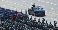 В Москве прошел парад по случаю 75-летия победы в Великой Отечественной войне. Участвуют президенты разных стран, в том числе Кыргызстана.