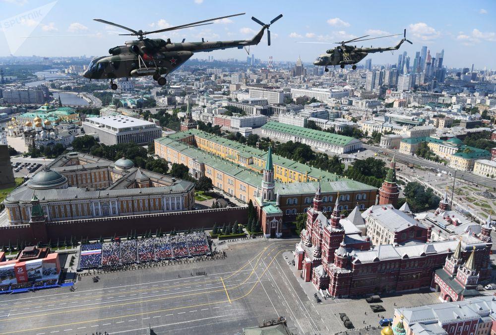 Көп багыттуу Ми-8 тик учактары
