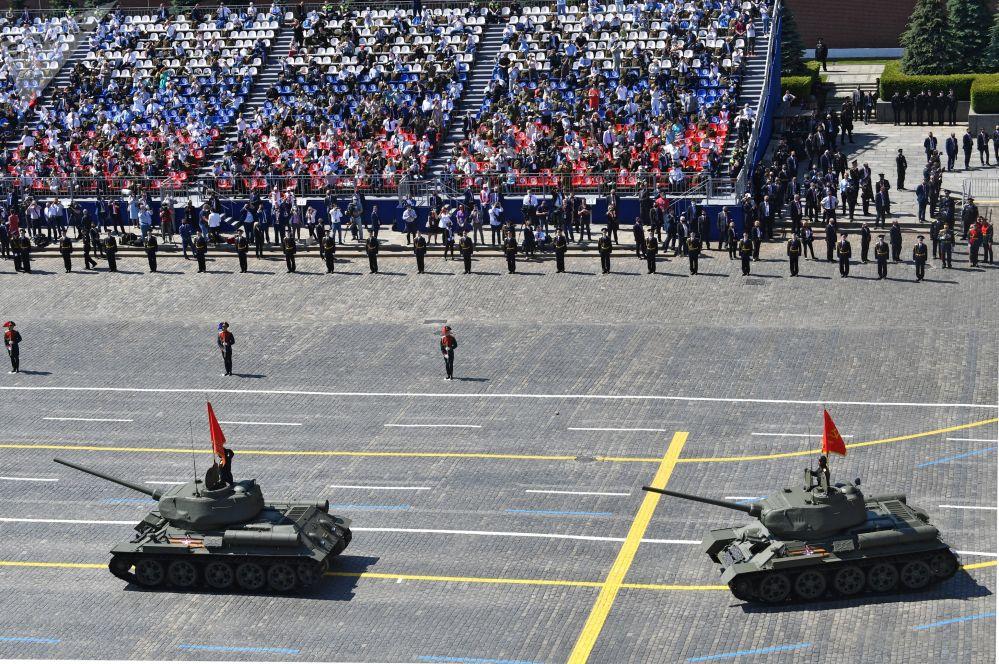 Т-34-85 танктары