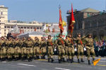 Военнослужащие стран постсоветского пространства приняли участие в параде в честь 75-летия победы в Великой Отечественной войне в Москве.