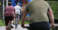 Велосипедчен адамдар. Архив
