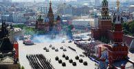 Улуу Жеңиштин 75 жылдыгына арналган аскердик парад