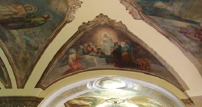 Роспись в Преображенской церкови