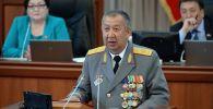 Министр чрезвычайных ситуаций Кыргызской Республики Боронов Кубатбек Айылчиевич. Архивное фото